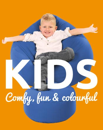 Fun, Colourful Kids beanbags